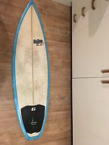 Kjn surfboard 5'7 for sale Cronulla Sutherland Area Preview