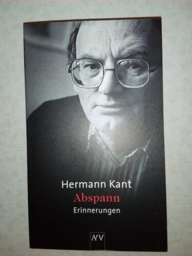 Abspann von Hermann Kant (2003, Taschenbuch)