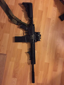 Milsig M17 XDC and CQC fully loaded