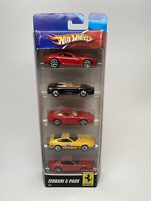 Hot wheels Rare Ferrari 5 pack From 2008 HTF Exotic Car Set VHTF