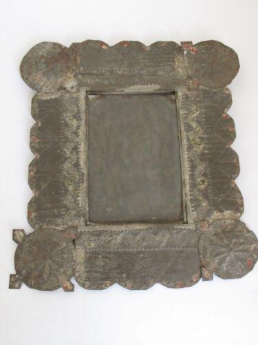 Antique New Mexican Isleta PuebloTin Frame