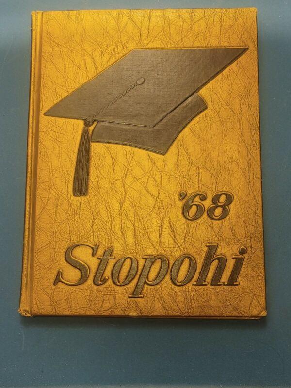 1968 Stopohi Stony High School YearBook Stony Point, North Carolina