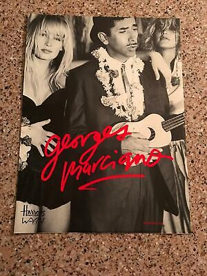 1987 VINTAGE 9X12 LONDON UK PRINT AD FOR GUESS JEANS Georges Marciano (Guess London Uk)
