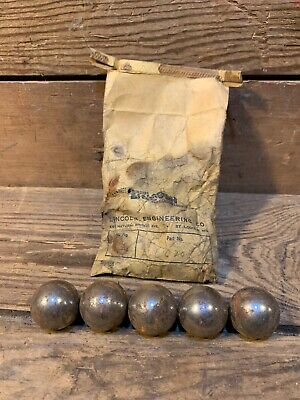 5 Brake Balls Disc Tractor Part 1 Pad Steel Farmall H M Super John Deere Oliver