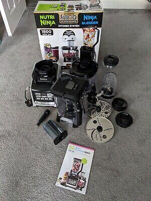 Nutri Ninja BL682UK2 1500W Kitchen Blender System Food Processor Auto-iQ