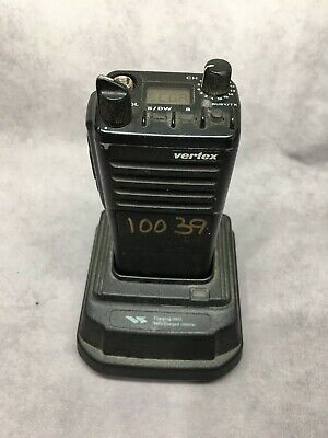 Vertex Vx-510l -portable Handheld Two-way Radio With Rapid Charger Battery