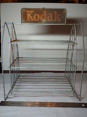 Vintage Kodak Film Rack Display For Counter Film Sales