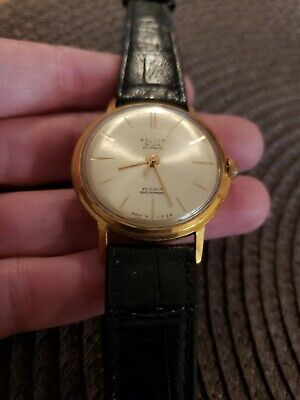 VINTAGE POLJOT 29 JEWEL MENS WATCH WORKING MILITARY MADE IN USSR