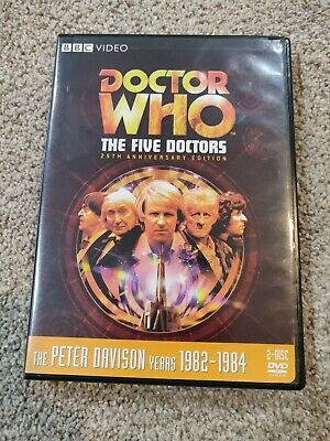 Doctor Who: Five Doctors DVD Peter (Story 130)