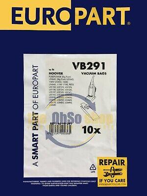 10 X Staubsauger Handstaubsauger Taschen H20 Typ - U3130,U3134,U3135,U3136 gebraucht kaufen  Versand nach Germany