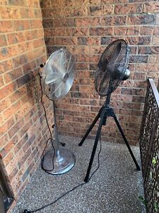 Electric Fan - Black and Silver (like new)