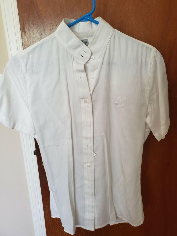 2 Short Sleeved Hunt Seat Show Shirts