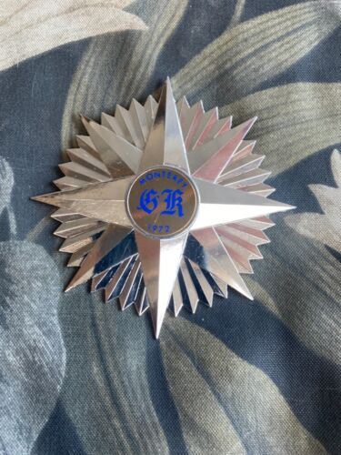 El Kalah Scimitar Crest Vintage Lapel Pin STAR Masonic Shriner