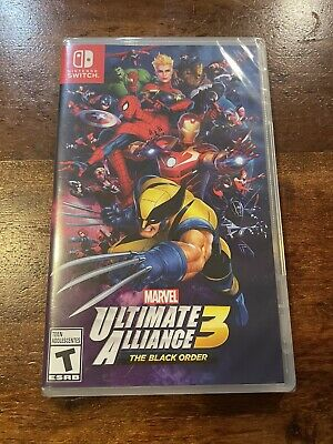 Marvel Ultimate Alliance 3 - The Black Order - Nintendo Switch