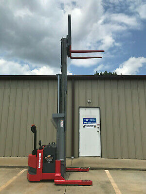 2003 Raymond Dsx40 Walk Behind Forklift Straddle Lift - Very Nice Triple 150