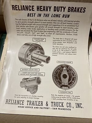 Reliance Heavy Duty Brakes And Trailer Brakes