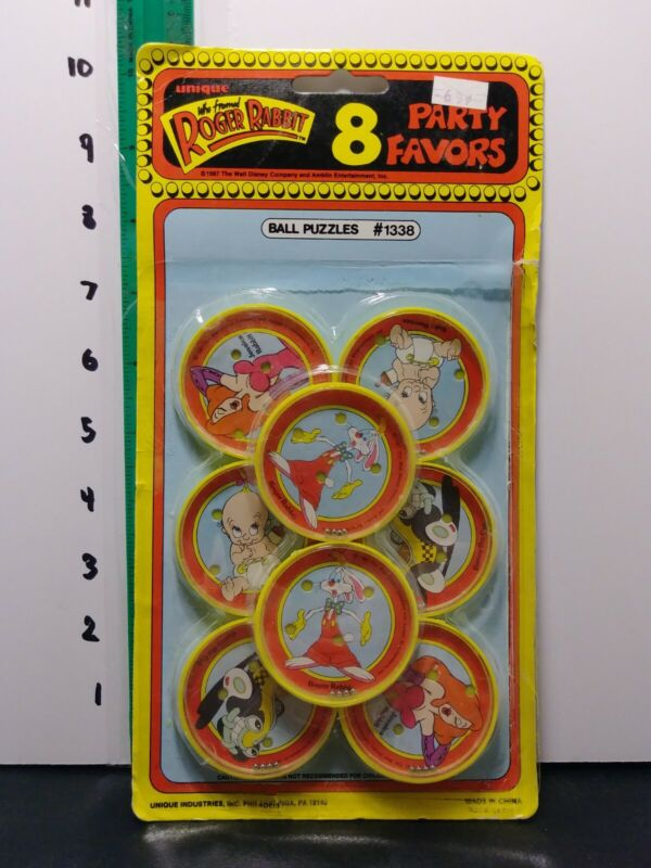 Vintage Roger Rabbit Party Favors