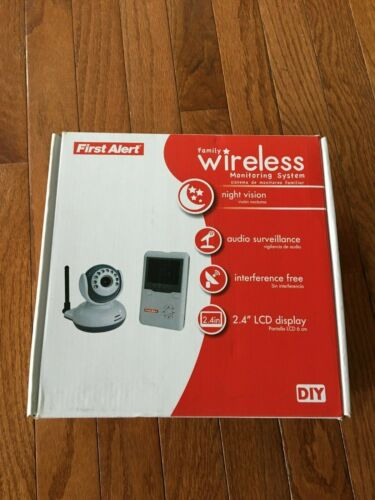 First Alert D545B Digital Wireless Indoor Family Monitor System