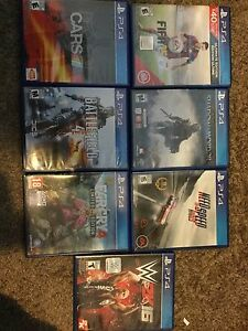 7 PS4 Games (Bundle)