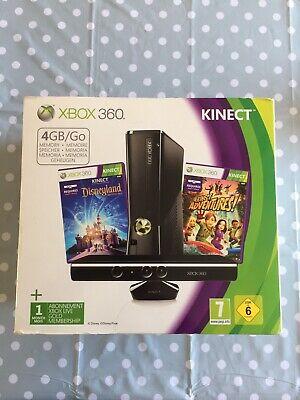 Microsoft Xbox 360 Slim Kinect Adventure + Kinect Disneyland Adventure 4GB Matte