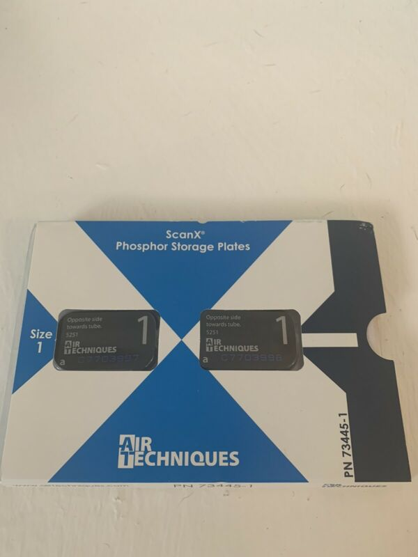 Airtechniques ScanX Phosphor Plates Size 1 Pack Of 2