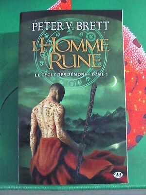 Le cycle des démons, Tome 1 : L' Homme Rune - Français