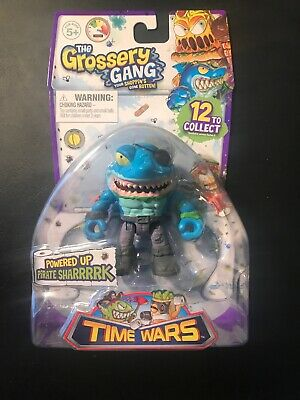 The Grossery Gang  Pirate Sharrrrk Blue Shark Powered Up Time Wars Single Pack