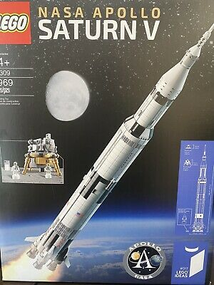 LEGO 21309 Ideas NASA Apollo Saturn V