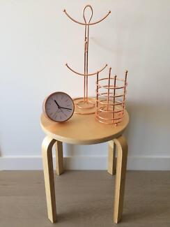 Copper Kikki K Desk Clock