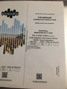 Tickets to - The Weekend STARBOY 2017 world tour