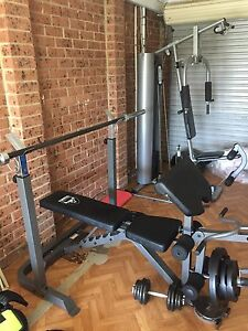 Gym equipment Currans Hill Camden Area Preview