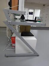 Z DESK WITH FROSTED GLASS Noosaville Noosa Area Preview