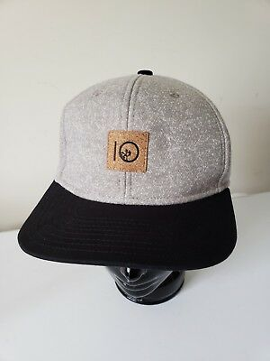 Ten 10 Trees Cork Eco Material Sustainable Embroidered snapback Baseball hat cap