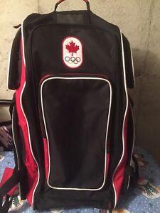 Hockey bag and equipment
