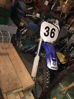 99 - 00 YZ 125 parts or repair with papers Trade for 4 wheeler