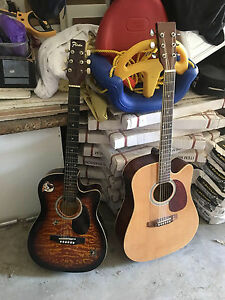 2 ACOUSTIC GUITARS Southport Gold Coast City Preview