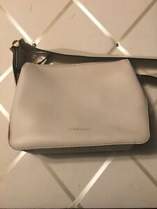 Burberry Helmsley Leather Crossbody Purse