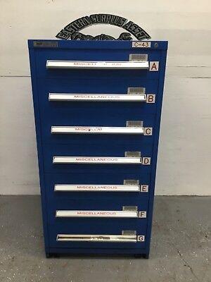 Stanley Vidmar 7 Drawer Industrial Storage Cabinet