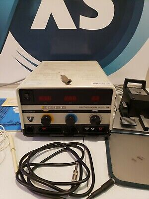 Birtcher Electrosurgery Electrosurgical Unit Model 774 W Accessories