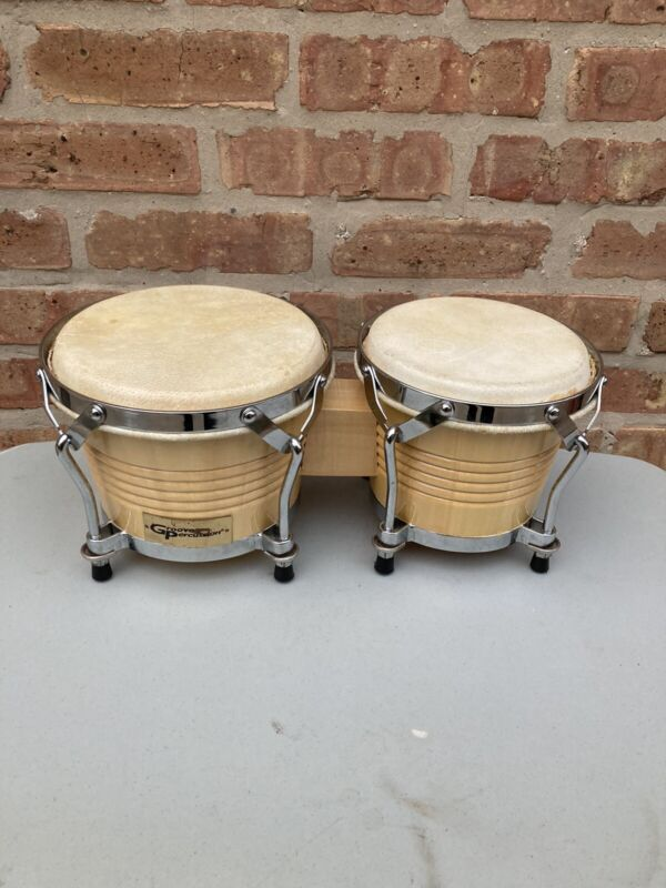 Groove Percussion Thick Wood Bongos