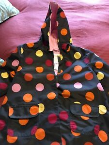 Girls Gymboree rain jacket- size 7/8