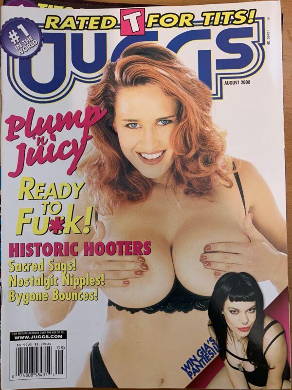 Juggs Magazine AUGUST 2008( Vintage )