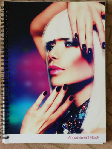 4 Column Appointment Book 200 page For Nail Shop Hair Salon Beauty Spa Office