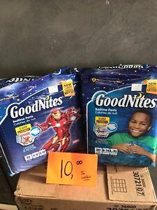 Goodnites culotte de nuit enfant