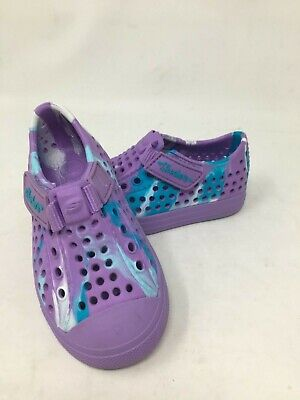 NEW! Skechers Toddler Girl's GUZMAN 2.0 SWIRLY BRIGHTS Prple/Teal #86943N H14C a