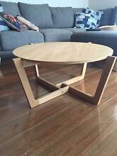 Solid Oak Coffee Table - ONLY 4 MONTH OLD Bondi Beach Eastern Suburbs Preview