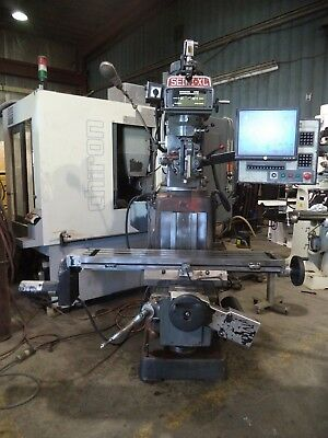 1995 Seiki Model 3vx Vertical Milling Machine With 3 Axes Milltronics Cnc Cont