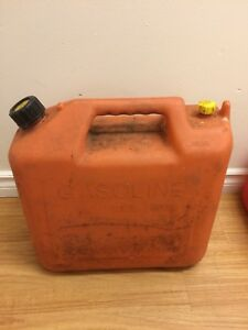 Gasoline Jerry Cans