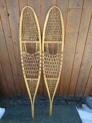 """ALASKAN Snowshoes 56"""" Long x 10"""" Wide EXCELLENT Condition"""