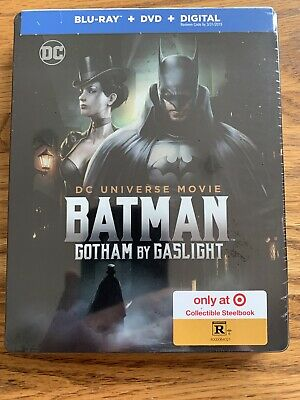 BATMAN SteelBook GOTHAM BY GASLIGHT Dc Elseworld Animated Movie BLU-RAY dvd